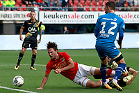 Joris van Overeem of AZ Alkmaar, Mark Birighitti of NAC Breda