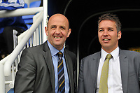 Photo:Tony Oudot/Richard Lane Photography. Peterborough United v Leeds United. Coca-Cola Football League One. 04/10/2008. Managers Gary McAllister and Darren Ferguson.