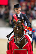 Helen Langehanenberg - Damon Hill NRW<br /> Reem Acra FEI World Cup Final 2013<br /> © DigiShots