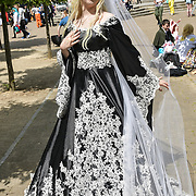 London, UK. 24 May 2019. Cosplay fans came to London on May 24, 2019 for the MCM Comic Con London 2019, which took place at the Excel Centre with hundreds of stall exhibition. The weekend offered comic fans the chance to dress up as their favourite characters. Credit: Picture Capital