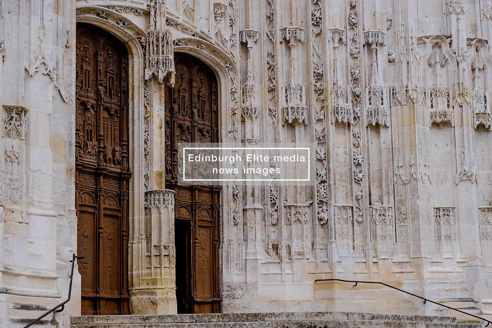 Doorway of St Peter's Cathedral (La Cathédrale Saint-Pierre), Beauvais, France<br /> <br /> (c) Andrew Wilson | Edinburgh Elite media