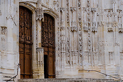 Doorway of St Peter's Cathedral (La Cathédrale Saint-Pierre), Beauvais, France<br /> <br /> (c) Andrew Wilson | Edinburgh Elite media