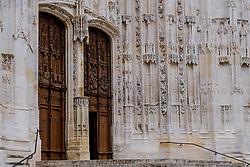 Doorway of St Peter's Cathedral (La Cath&eacute;drale Saint-Pierre), Beauvais, France<br /> <br /> (c) Andrew Wilson | Edinburgh Elite media