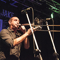 Less Than Jake performing live at Manchester Academy, Manchester, UK, 2014-02-03
