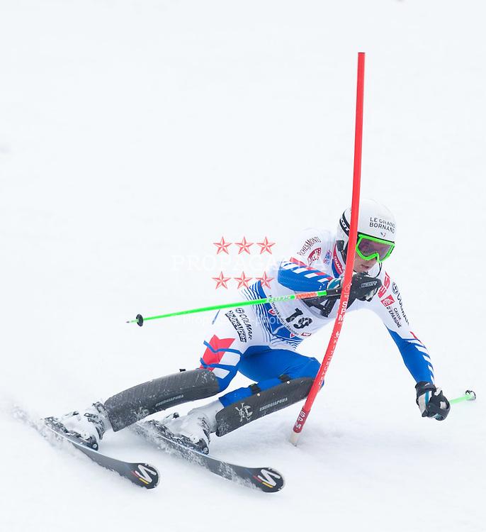 22.01.2012, Ganslernhang, Kitzbuehel, AUT, FIS Weltcup Ski Alpin, 72. Hahnenkammrennen, Herren, Slalom 2. Durchgang, im Bild Steve Missillier (FRA) // Steve Missillier of France during Slalom race 2nd run of 72th Hahnenkammrace of FIS Ski Alpine World Cup at 'Ganslernhang' course in Kitzbuhel, Austria on 2012/01/22. EXPA Pictures © 2012, PhotoCredit: EXPA/ Johann Groder