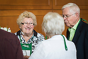 Alumni and donors gathered for a reception on Thursday, May 28, 2015 in Baker Center as a part of the On The Green alumni weekend.  Photo by Ohio University  /  Rob Hardin