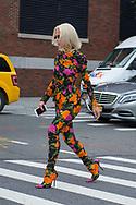 Floral Pantsuit, Outside Desigual SS2018