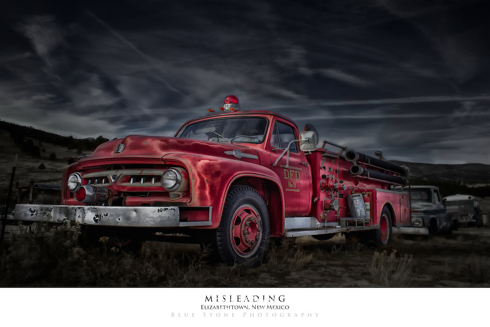 misleading poster print blue stone photography