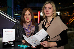 Sara Kennedy from Bank of Ireland, Sheila Buckley from Independent News and Media.