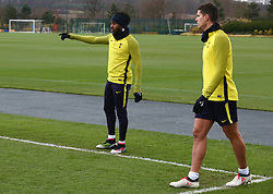March 6, 2018 - Enfield, England, United Kingdom - Tottenham Hotspur's Danny Rose.during a Tottenham Hotspur training session ahead of the UEFA Champions League Round of 16 match against Juventus  at Tottenham Hotspur Training centre on 06 March, 2018 in Enfield, England. (Credit Image: © Kieran Galvin/NurPhoto via ZUMA Press)