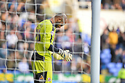 Reading goalkeeper Ali Al Habsi during the Sky Bet Championship match between Reading and Bolton Wanderers at the Madejski Stadium, Reading, England on 21 November 2015. Photo by Adam Rivers.