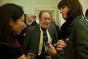 MICHAEL GAMBON, Party to celebrate the publication of 'Along the Enchanted Way' by William Blacker. Hosted by the Blacker family. 2 Belgrave Sq. London. 12 November 2009.