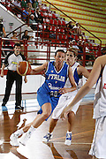 DESCRIZIONE : Porto San Giorgio Torneo Internazionale Basket Femminile Italia Serbia<br /> GIOCATORE : Laura Macchi<br /> SQUADRA : Nazionale Italia Donne<br /> EVENTO : Porto San Giorgio Torneo Internazionale Basket Femminile<br /> GARA : Italia Serbia<br /> DATA : 29/05/2009 <br /> CATEGORIA : palleggio<br /> SPORT : Pallacanestro <br /> AUTORE : Agenzia Ciamillo-Castoria/E.Castoria<br /> Galleria : Fip Nazionali 2009<br /> Fotonotizia : Porto San Giorgio Torneo Internazionale Basket Femminile Italia Serbia<br /> Predefinita :