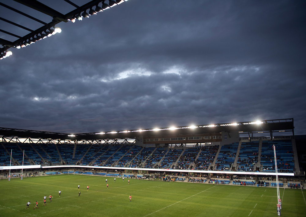 A general view of the Avaya Stadium at the Silicon Valley Sevens in San Jose, California. November 4, 2017. <br /> <br /> By Jack Megaw.<br /> <br /> <br /> <br /> www.jackmegaw.com<br /> <br /> jack@jackmegaw.com<br /> @jackmegawphoto<br /> [US] +1 610.764.3094<br /> [UK] +44 07481 764811