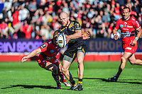 Joe SIMPSON / Drew MITCHELL - 05.04.2015 - Toulon / Londres Wasps - 1/4Finale European Champions Cup<br />