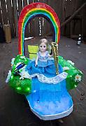 The 'tit Rex micro Mardi Gras parade