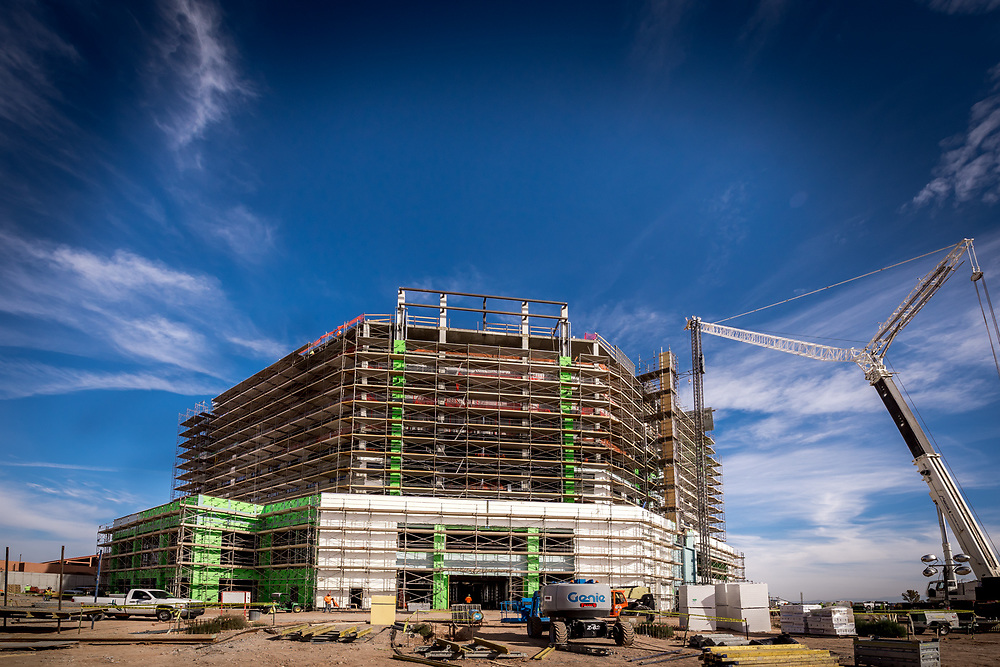 DKD Electric Sandia Casino Jobsite Photos. Photo By Mike Radigan, Rad5 Media, LLC.