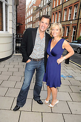 DUNCAN BANNATYNE and his wife JOANNE at the Spectator Summer Party held at 22 Old Queen Street, London SW1 on 3rd July 2008.<br /><br />NON EXCLUSIVE - WORLD RIGHTS