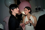 ERIN O'CONNOR; MARIA GRACHVOGEL, Vogue Fantastic  Fashion Fantasy Party in association with  Van Cleef and Arpels and to celebrate Vogue's secret address book. 1 Marylebone Rd. London. 3 November 2008 *** Local Caption *** -DO NOT ARCHIVE -Copyright Photograph by Dafydd Jones. 248 Clapham Rd. London SW9 0PZ. Tel 0207 820 0771. www.dafjones.com