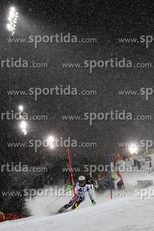 27.01.2015, Planai, Schladming, AUT, FIS Weltcup Ski Alpin, Nightrace, Slalom, Herren, 1. Durchgang, im Bild Dong-Hyun Jung (KOR) // Dong-Hyun Jung of Korea in action during 1st run of mens slalom of the Schladming FIS Ski Alpine World Cup at the Planai course in Schladming, Austria on 2015/01/27. EXPA Pictures © 2015, PhotoCredit: EXPA/ Martin Huber