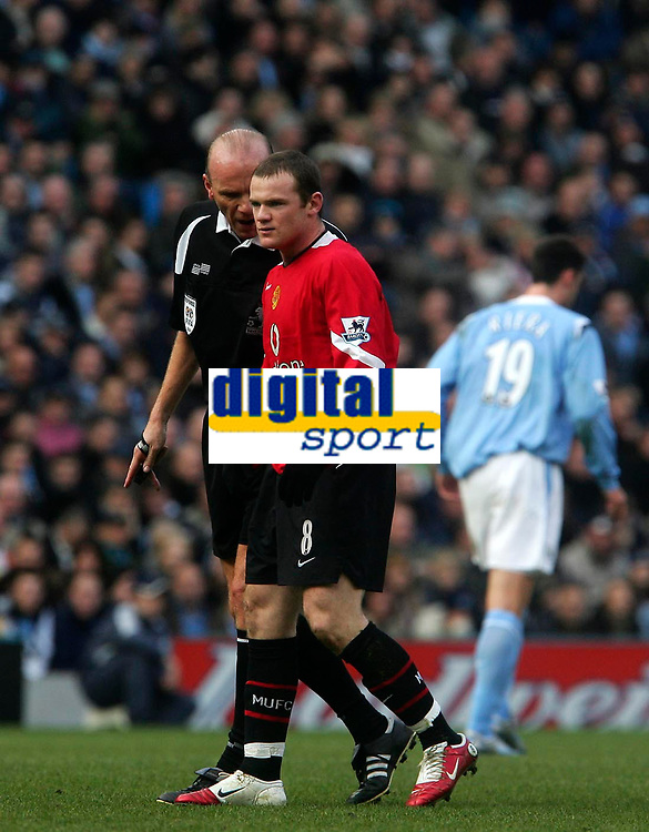Photo: Andrew Unwin.<br /> Manchester City v Manchester United. The Barclays Premiership. 14/01/2006.