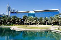 Sony office building at Dubai Internet City in United Arab Emirates UAE