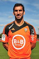 Pedrinho - 25.09.2014 - Photo officielle Lorient - Ligue 1 2014/2015<br /> Photo : Philippe Le Brech / Icon Sport