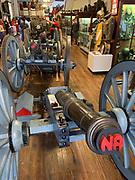 The Artillery Company of Newport museum, Newport, Rhode Island, USA