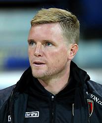 Bournemouth Manager, Eddie Howe - Mandatory byline: Matt McNulty/JMP - 07966386802 - 22/09/2015 - FOOTBALL - Deepdale Stadium -Preston,England - Preston North End v Bournemouth - Capital One Cup - Third Round