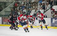 Belmont-Gilford versus Berlin NHIAA Division III semi final hockey at Plymouth State University.  Karen Bobotas for the Laconia Daily Sun