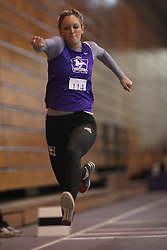 London, Ontario ---11-01-22---   Sarah Sylvester of the Western Mustangs competes at the 2011 Don Wright meet at the University of Western Ontario, January 22, 2011..GEOFF ROBINS/Mundo Sport Images.
