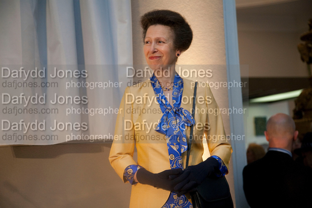 THE PRINCESS ROYAL, Opening of the V. and A.'s New Ceramics Galleries by the Princess Royal. V. & A. London. 16 September 2009