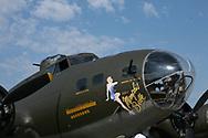 World War II B17 at the Dayton Air Show Dayton Air Show in Dayton Ohio