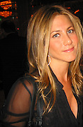 **EXCLUSIVE**.Jennifer Anniston.Presidential Candidate Barack Obama Fundraiser, hosted by DreamWorks Movie moguls Steven Spielberg, David Geffen and Jeffrey Katzenberg.Beverly Hilton Hotel.Hollywood, California, USA.Tuesday, February 20, 2007.Photo by Celebrityvibe.com; .To license this image please call (212) 410 5354 ; or.Email: celebrityvibe@gmail.com ;