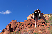 The Chapel built in the Arizona desert