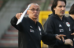 June 5, 2018 - Brussels, BELGIUM - Egypt's head coach Hector Cuper gestures during a training session of the Egyptian national soccer team, Tuesday 05 June 2018, in Brussels. Egypt will play on Wednesday a friendly game against the Belgian national soccer team Red Devils to prepare the upcoming FIFA World Cup 2018 in Russia. BELGA PHOTO VIRGINIE LEFOUR (Credit Image: © Virginie Lefour/Belga via ZUMA Press)