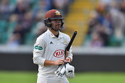 Rory Burns of Surrey during the opening day of the Specsavers County Champ Div 1 match between Somerset County Cricket Club and Surrey County Cricket Club at the Cooper Associates County Ground, Taunton, United Kingdom on 18 September 2018.