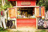 Pequeno comércio na Trilha da Costa da Lagoa. Florianópolis, Santa Catarina, Brazil. / Small business at Costa da Lagoa Trail. Florianopolis, Santa Catarina, Brazil.