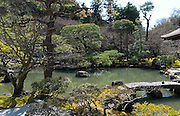 Japan, Kyoto, Ginkaku-ji (Jish?-ji or Temple of the Silver Pavilion) Zen Buddhist temple
