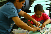 Belo Horizonte_MG, Brasil...Projeto Escola Aberta, na Escola Municipal Helio Pelegrino...The Escola Aberta project in the Municipal School Helio Pelegrino. ..Foto: BRUNO MAGALHAES / NITRO