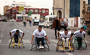 Gaza strip: Palestinian men compete in wheelchair marathon, 29 November 2016