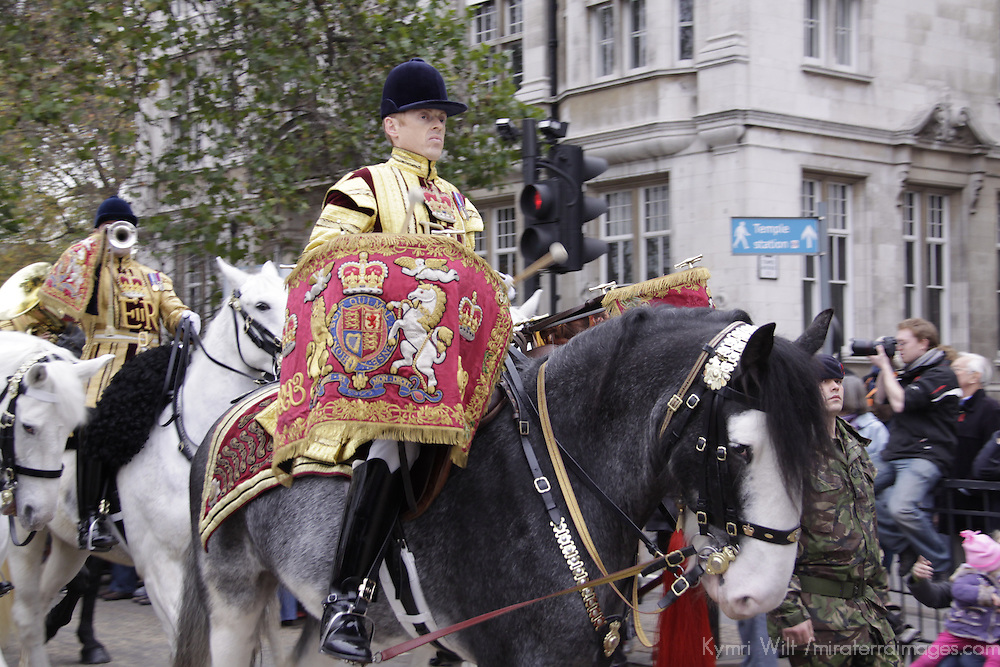 United Kingdom, England, London. The Lord Mayor's Procession 2010.
