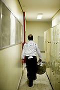 Belo Horizonte_MG, Brasil...Chef de cozinha Xavier Franco cozinhando no Festival Gastronomico Sabor e Saber...The chef Xavier Franco cooking in Gastronomy Festival Sabor e Saber...Foto: BRUNO MAGALHAES / NITRO..