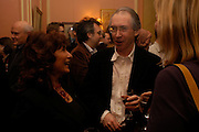 Lisa Appignanesi and Ian McEwan. Book party for 'Saturday' by Ian McEwan, Polish Club, South Kensington.  4 February 2005. ONE TIME USE ONLY - DO NOT ARCHIVE  © Copyright Photograph by Dafydd Jones 66 Stockwell Park Rd. London SW9 0DA Tel 020 7733 0108 www.dafjones.com