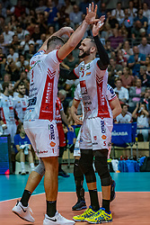 18-05-2019 GER: CEV CL Super Finals Zenit Kazan - Cucine Lube Civitanova, Berlin<br /> Civitanova win the Champions League by beating Zenit in four sets / Tsvetan Sokolov #1 of Cucine Lube Civitanova, Osmany Juantorena Portuondo #5 of Cucine Lube Civitanova