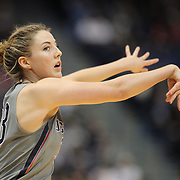 HARTFORD, CONNECTICUT- DECEMBER 19: Katie Lou Samuelson #33 of the Connecticut Huskies in action during the UConn Huskies Vs Ohio State Buckeyes, NCAA Women's Basketball game on December 19th, 2016 at the XL Center, Hartford, Connecticut (Photo by Tim Clayton/Corbis via Getty Images)