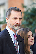 021717 Spanish Royals Attend Opening of the exhibition 'Masterpieces of Budapest'