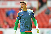 Dimitar Evtimov. Nottingham Forest goalkeeper