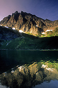 Granite Lake and A Peak. Cabinet Mountains Wilderness Area, northwest Montana