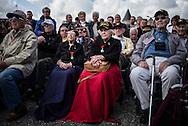 WWII veteran, Dorothy Levitsky-Sinner 97 y/o, volunteered w/sister, US Army Nursing Corps, in Picauville (c) her sister Ellan Levitsky Orkin 95 y/o, volunteered w/sister, US Army Nursing Corps (L)